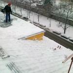 odśnieżanie dachów reda