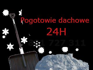 Odśnieżanie dachów Gdynia Sopot Gdańsk Trójmiasto Rumia Reda Wejherowo